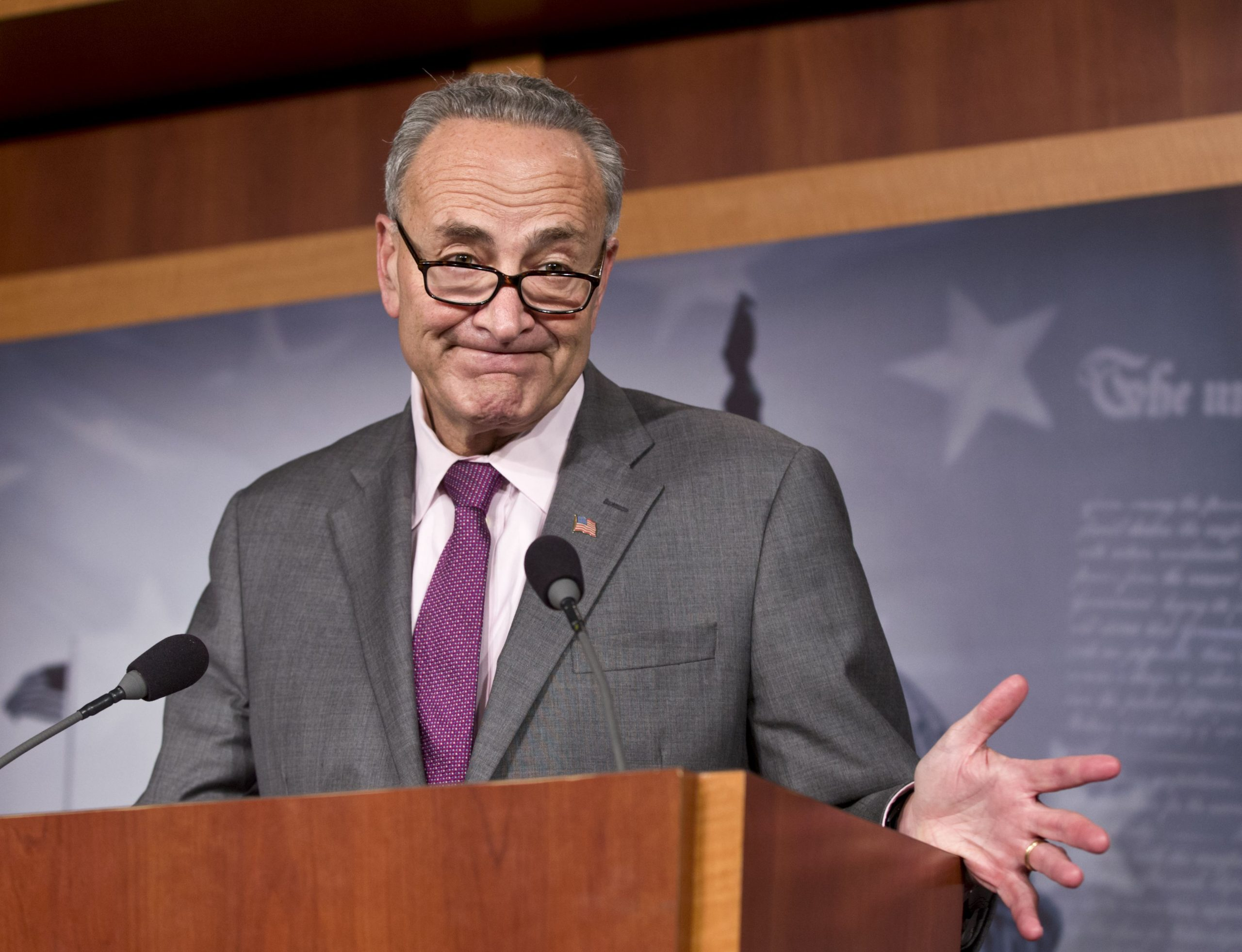 'Nothing Is Off The Table', Schumer Says About Scrapping The Filibuster