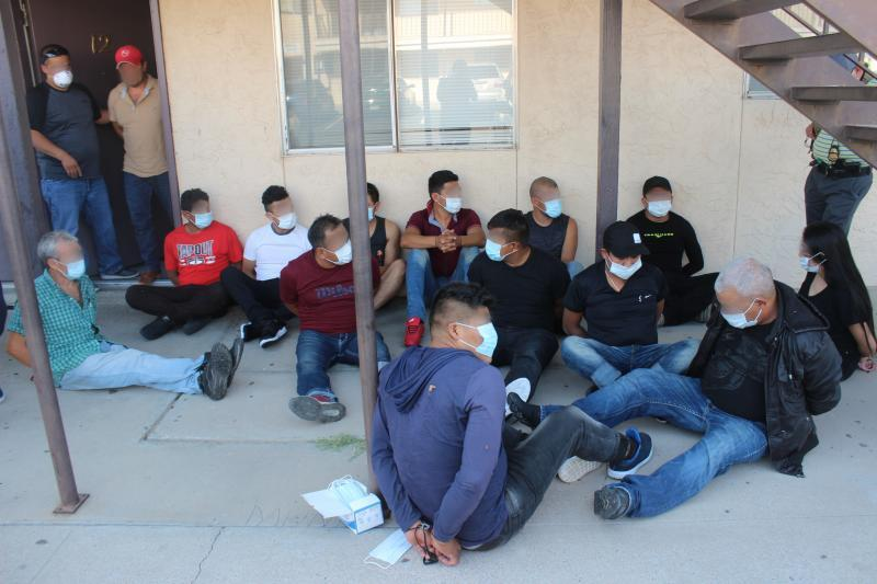 32 Illegal Aliens Arrested at El Paso Stash House