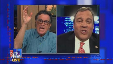 Angry Stephen Colbert Threatens Christie: This Is Your 'Last Chance' to Dump Trump