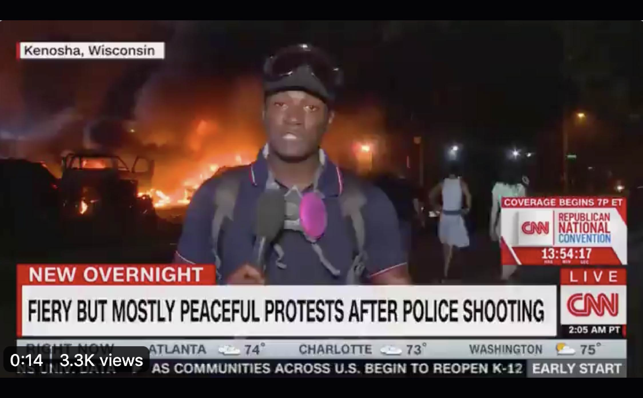 """CNN Gets Brutally Mocked For Pushing Most Absurd """"Peaceful Protest Propaganda"""" of All Time..."""