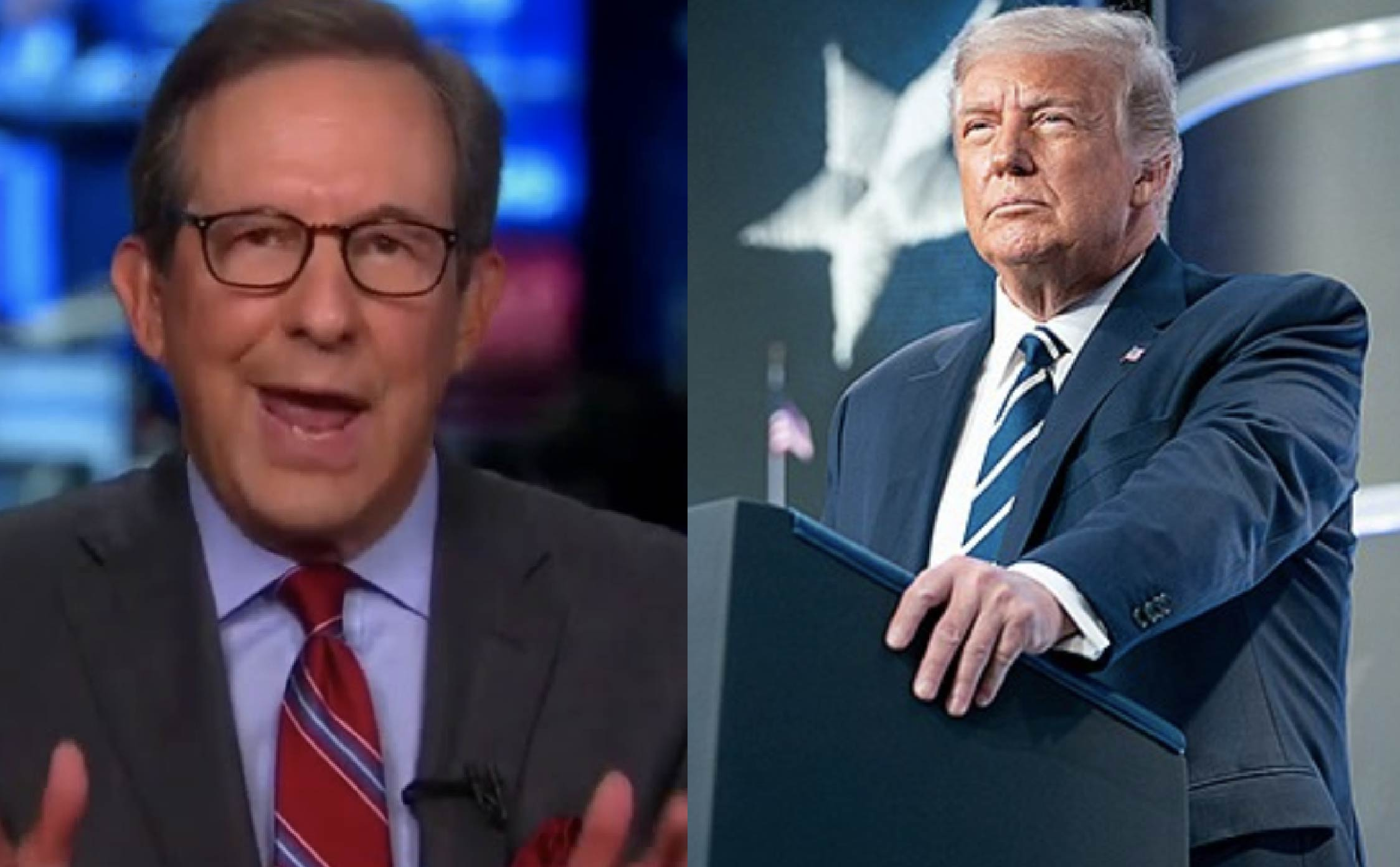 """Chris Wallace Can't Hide How Triggered He is By """"Trumps"""" RNC Convention"""