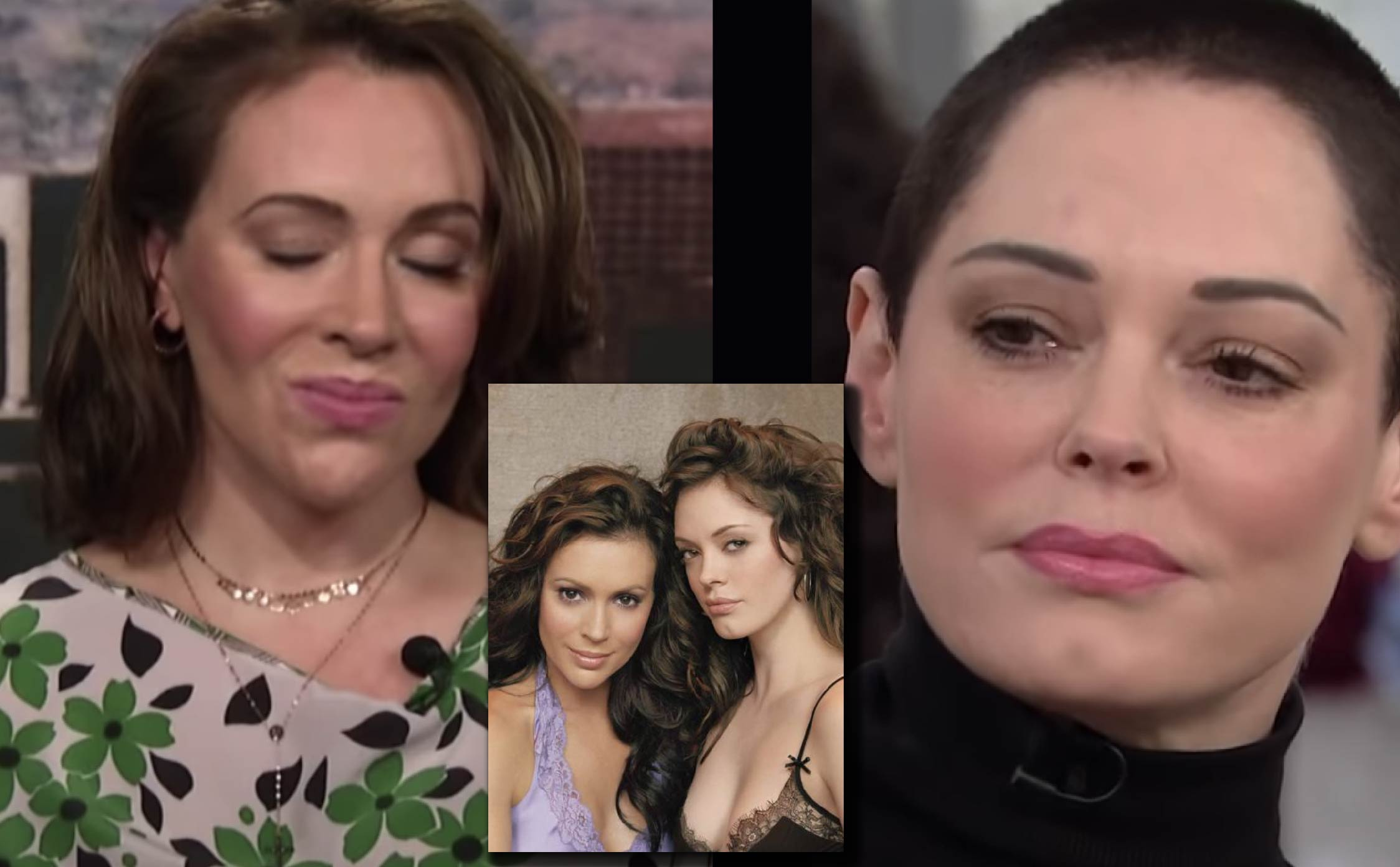 """Former """"Charmed"""" Star Rose McGowan Shares Secrets About Alyssa Milano's Nasty Behind-the-Scenes Behavior"""