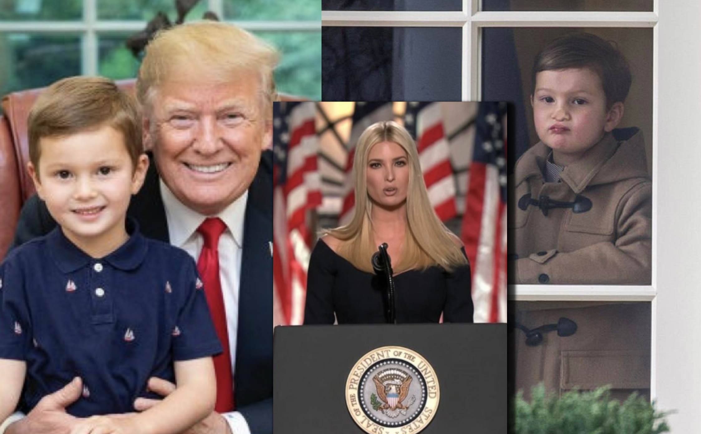 Full-Blown Media Assault Unleashed on Trump's Three-Year-Old Grandson