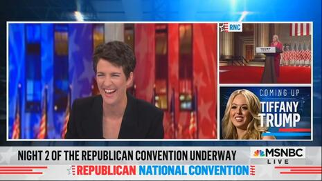 MSNBC HYPOCRITES Interrupt GOP Convention for 71 MINUTES Over Two Nights