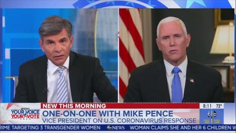 Mike Pence Wipes Floor With Combative Biden Shill Stephanopoulos
