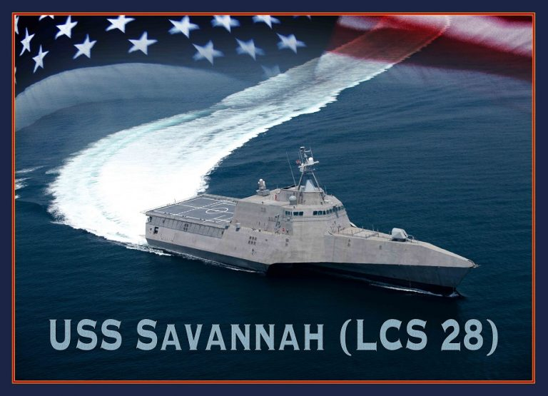 Navy to Christen Littoral Combat Ship Savannah Saturday