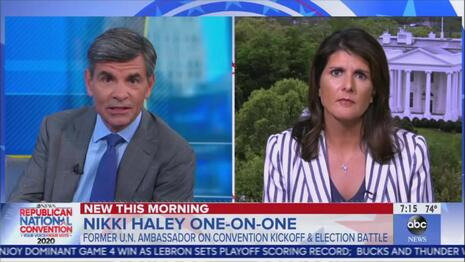 Nikki Haley Destroys ABC for Ignoring What Trump's Done for Black, Hispanic Americans