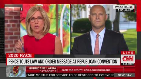 Outrageous: CNN, MSNBC Defend Biden, Blame Trump for BLM Violence