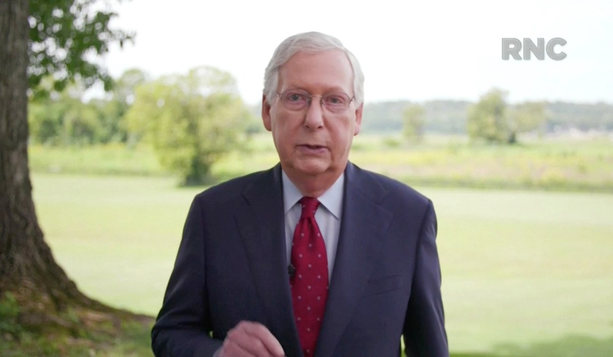 Republican Convention: Mitch McConnell Stresses Importance of Maintaining Republican Control of Senate