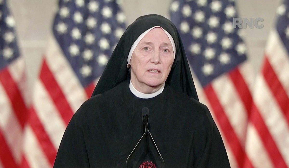 Republican Convention: Sister Dierdre Byrne Likens Unborn Children to Refugees