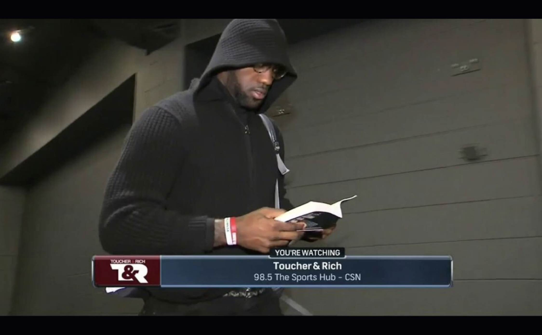 Savvy Internet Users Discover Something Incredibly Weird About How LeBron James Reads His Books