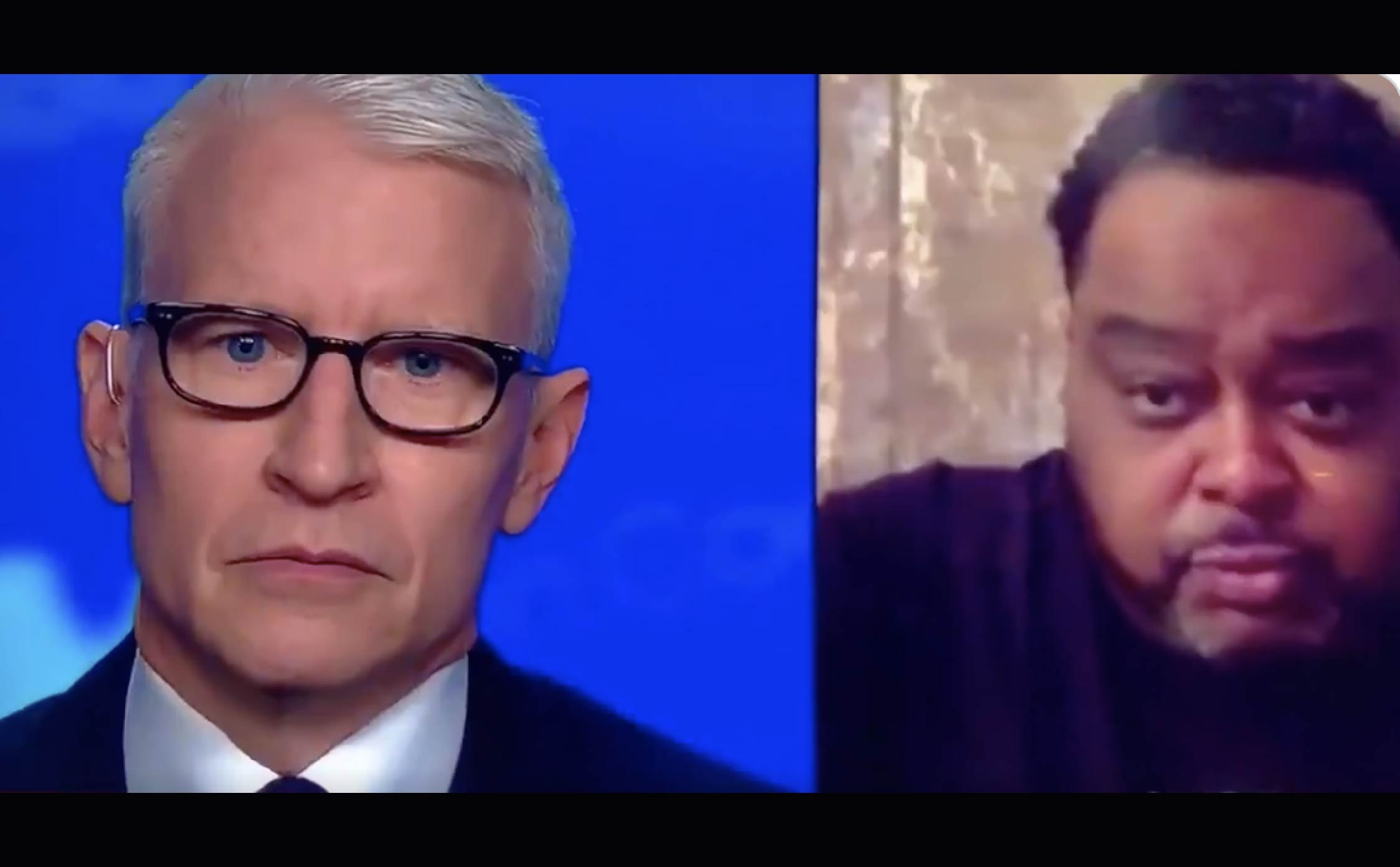 "[VIDEO] Anderson Cooper Left Speechless When Jacob Blake's Father Starts Rambling About ""Brussel Sprouts"" During Interview"