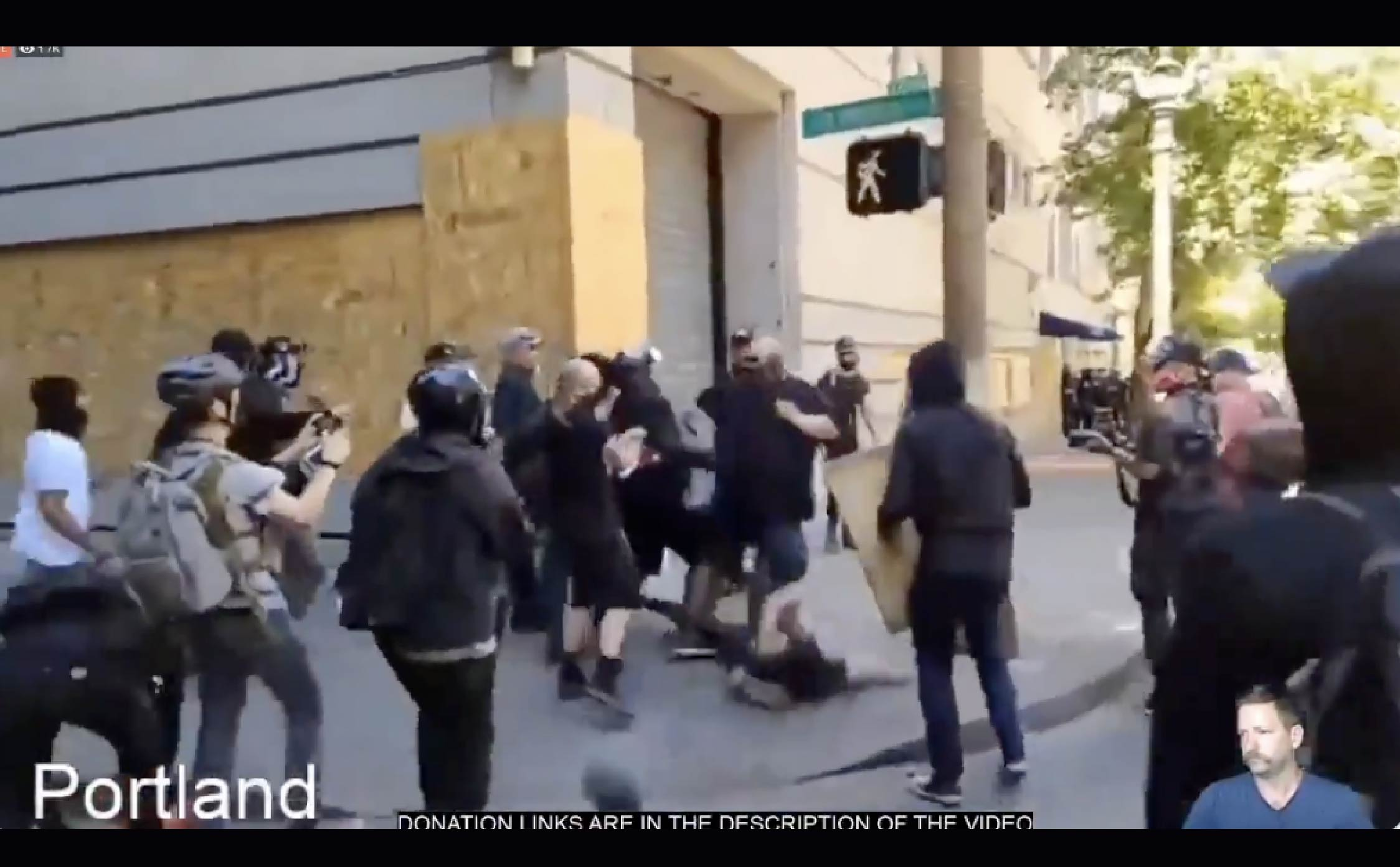 "[VIDEO] BLM and Antifa Protesters Cry For Police Help, After Pro-Cop Patriots Deliver Some ""Street Justice"""