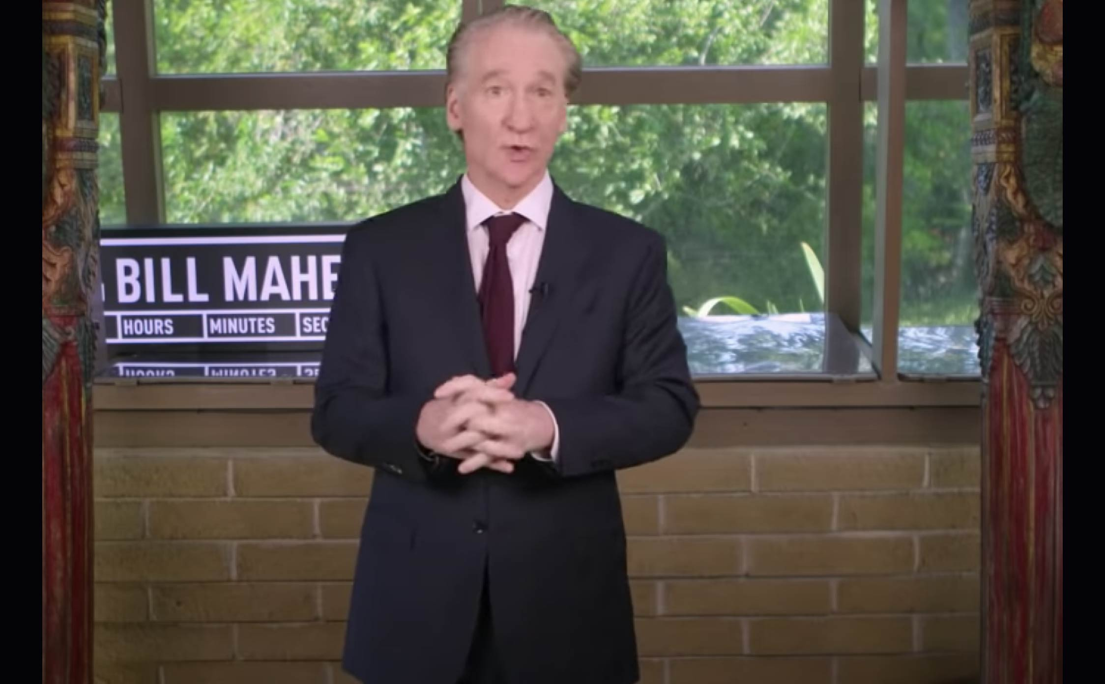"""[VIDEO] Bill Maher Horrified By Cringeworthy DNC Convention...Compares it to Watching a """"2 AM Jerry Lewis Telethon"""""""