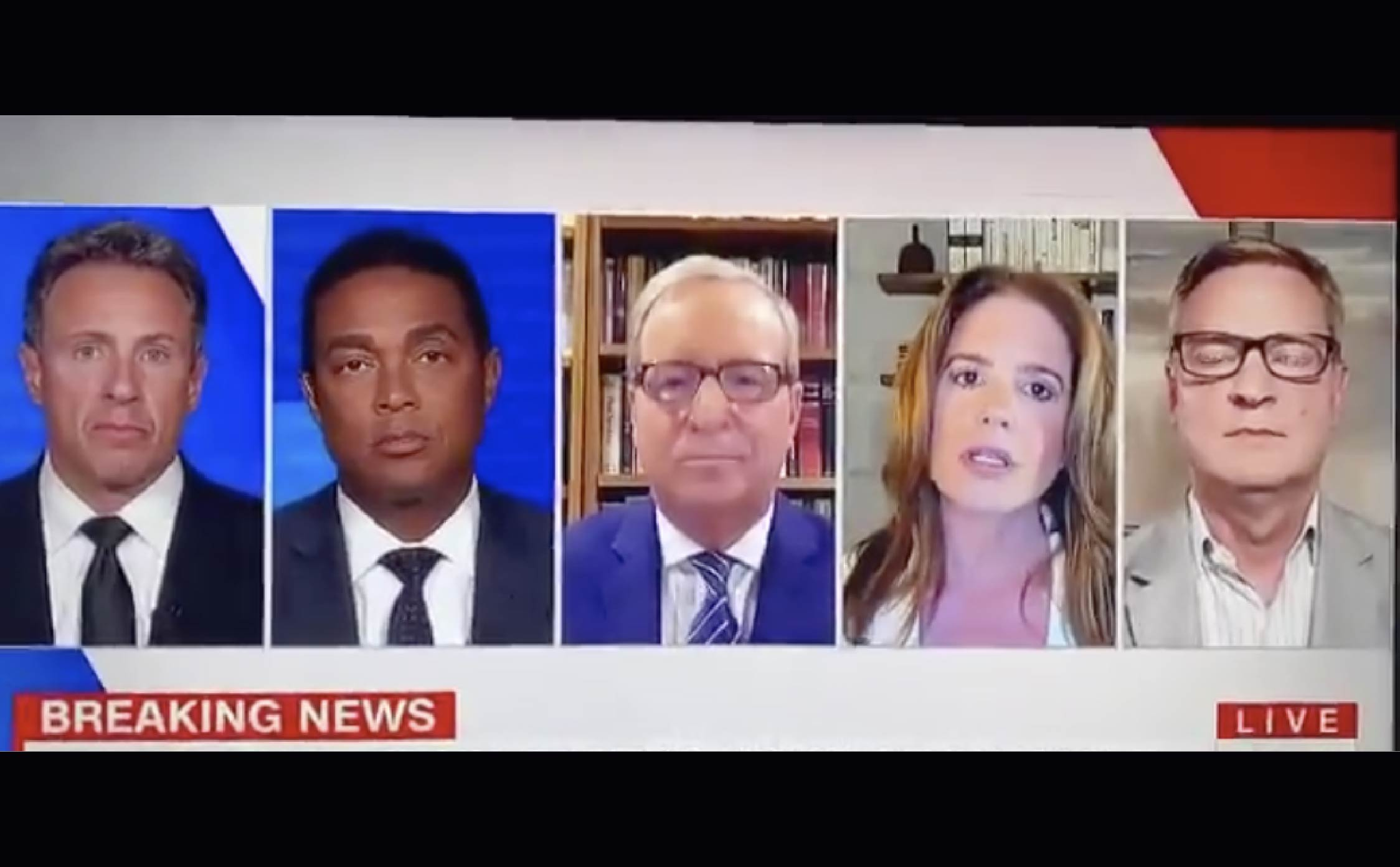 """[VIDEO] CNN Panel Says There's """"Very Little Rioting"""" and Trump is Blowing it Out of Proportion to Scare People"""