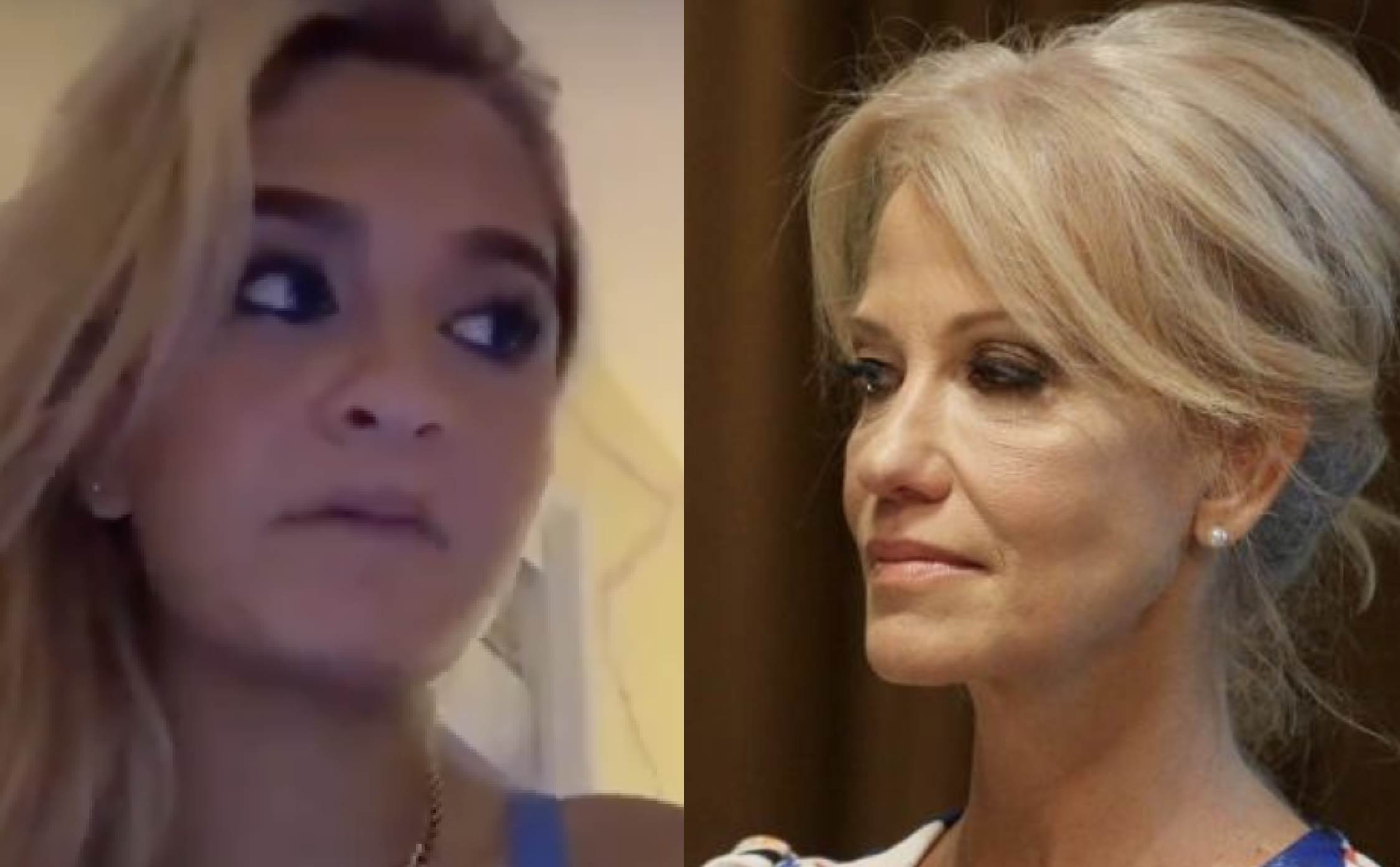 "[VIDEO] Kellyanne's Troubled Teen is Back and She's Angry Her Parents Didn't ""Consult"" Her Before Quitting Their Jobs"