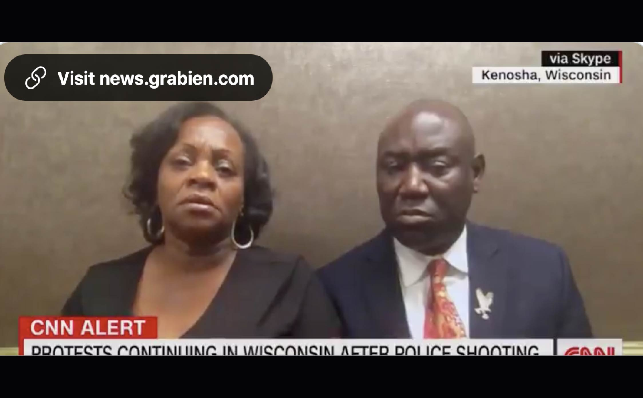 [VIDEO] Mother of Jacob Blake Apologizes to Trump, Says She Has Respect For Him as Our Country's Leader