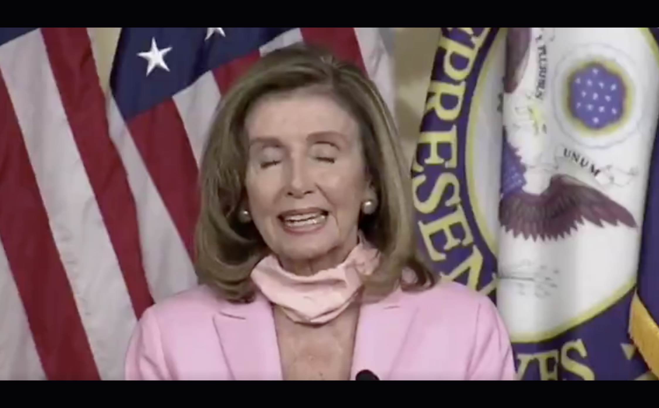 "[VIDEO] Pelosi Says We Need to Keep the USPS so the ""Tooth-Fairy"" Can Send Messages to Kids"