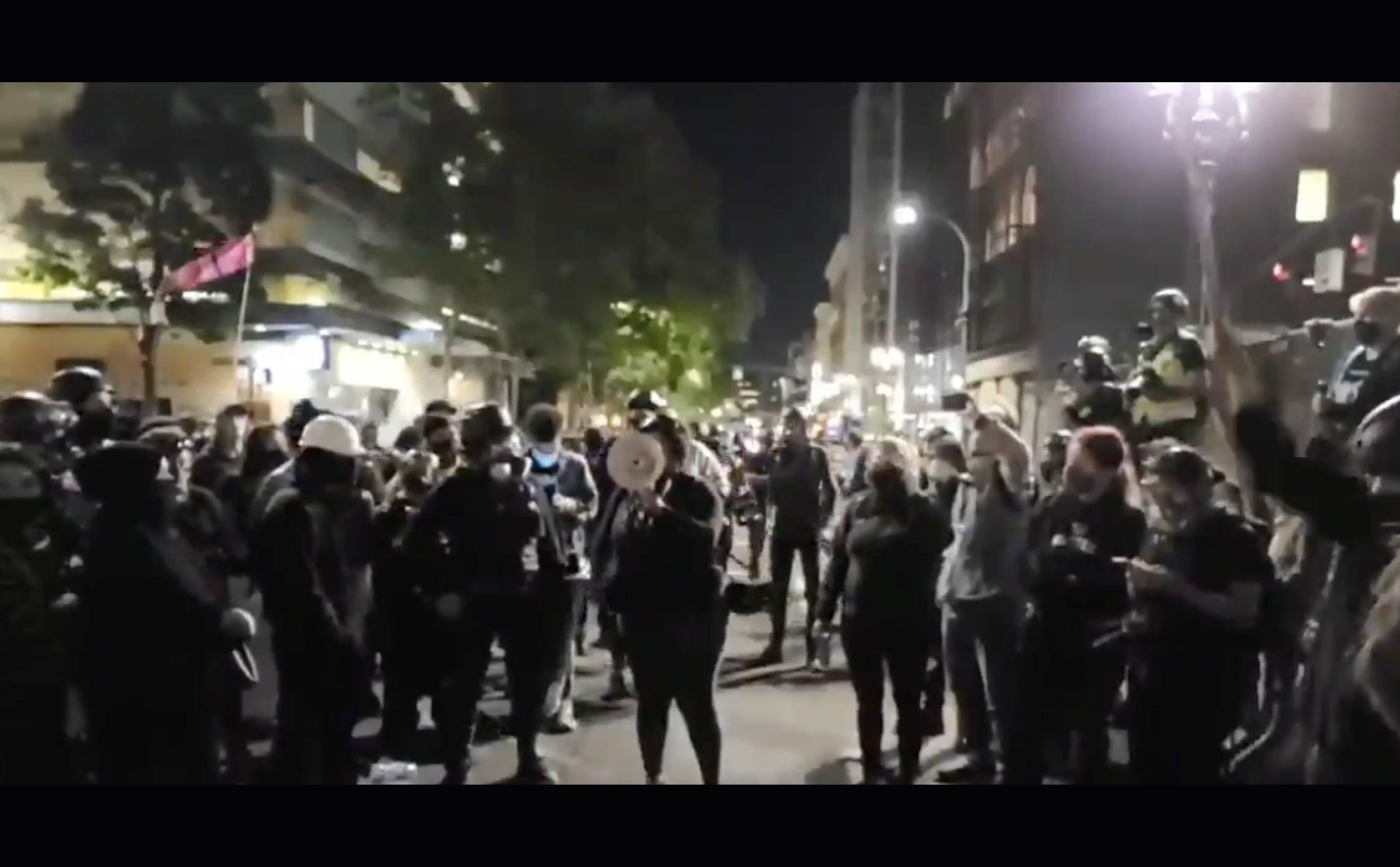 [VIDEO] Portland Anarchists Celebrate Murder of Trump Supporter Who Was Gunned Down in the Middle of the Street
