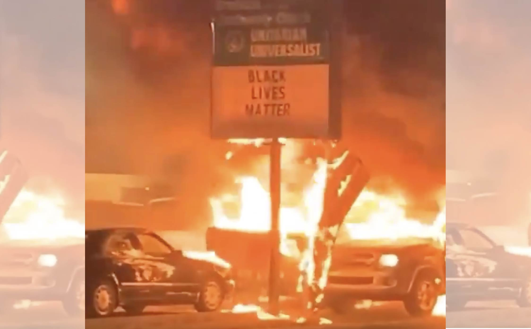[VIDEO] Pro-BLM Milwaukee Car Dealership Torched by BLM Protesters