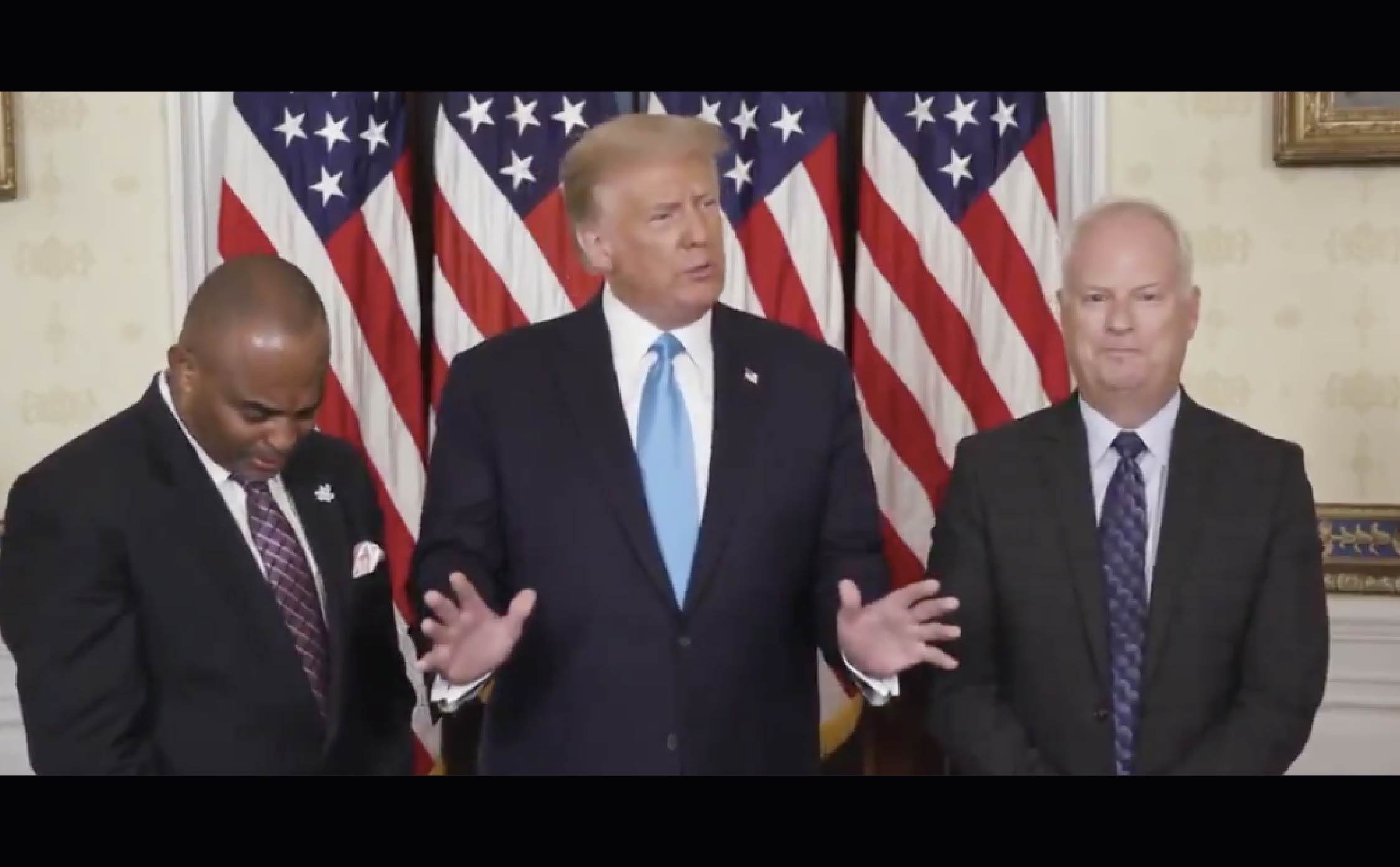 [VIDEO] Trump Brings Ex-Felon to Tears By Surprising Him With a Full Pardon During RNC Convention