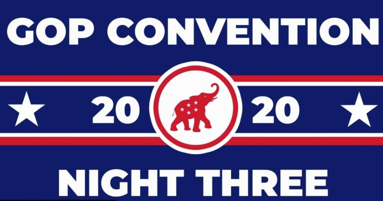 Watch Live: Republican National Convention - Night 3: Land of Heroes