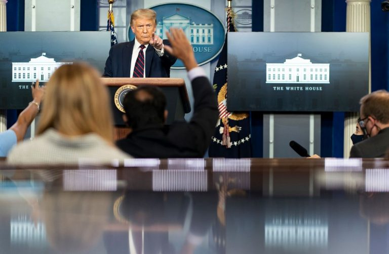 Watch: President Trump Holds a News Conference - 8/23/20