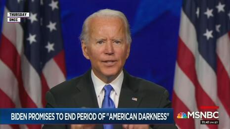 Why No Pinocchios or 'Pants on Fire' Ratings for Biden's Big Convention Speech?