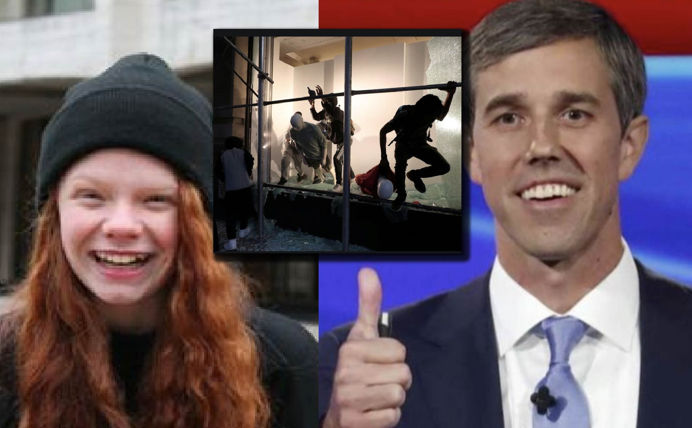 20-Year-Old Beto O'Rourke Campaign Worker and BLM Supporter Arrested and Faces Major Prison Time For Rioting