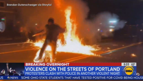 ABC Finally Gets Critical of Riots: 'Significant Escalation' With 'Gasoline Bombs'