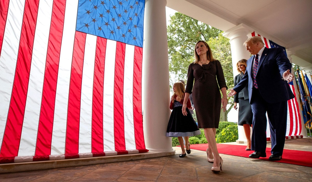 Amy Coney Barrett Nomination: Why the Federalist Society and Other Institutions Matter