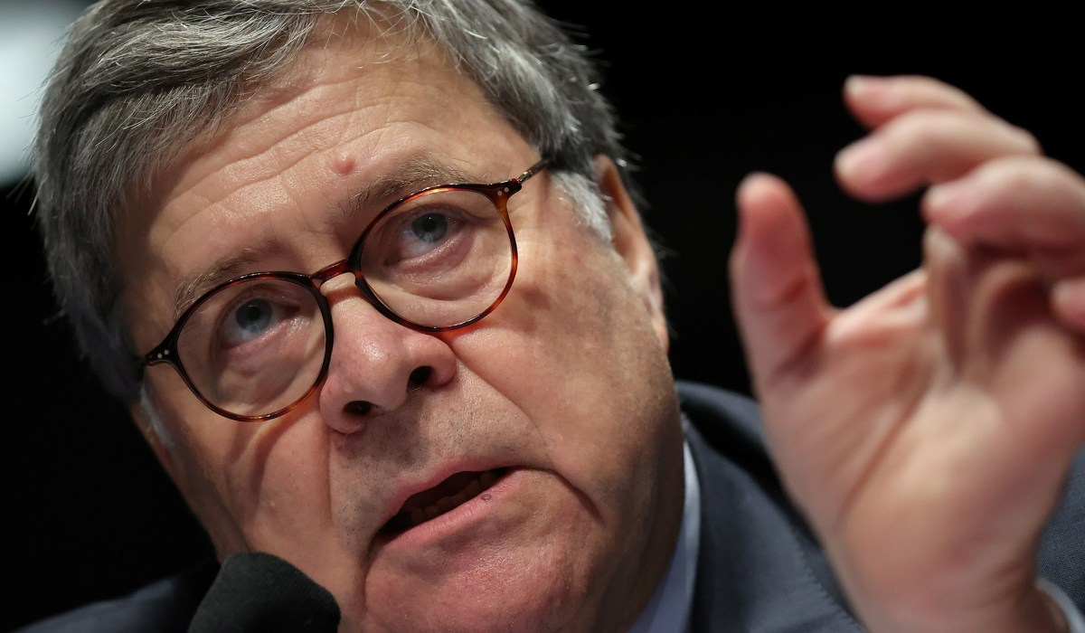 Bill Barr Is Right: DOJ Should Charge Violent Anti-Government Rioters with Seditious Conspiracy