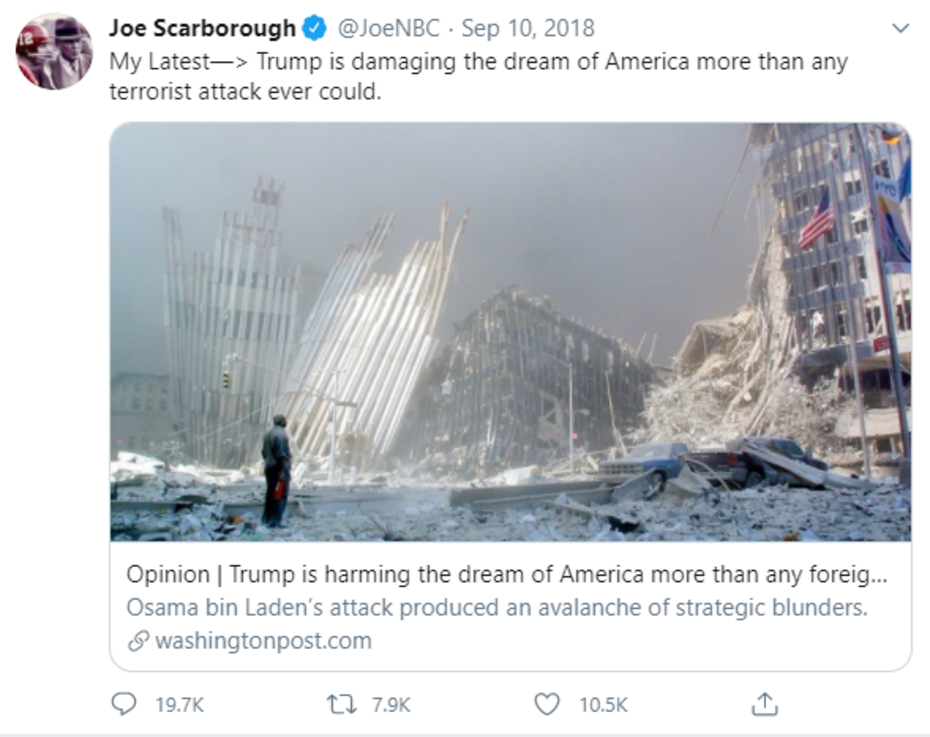 FLASHBACK: How the Lefty Media Used and Abused the Memory of 9/11