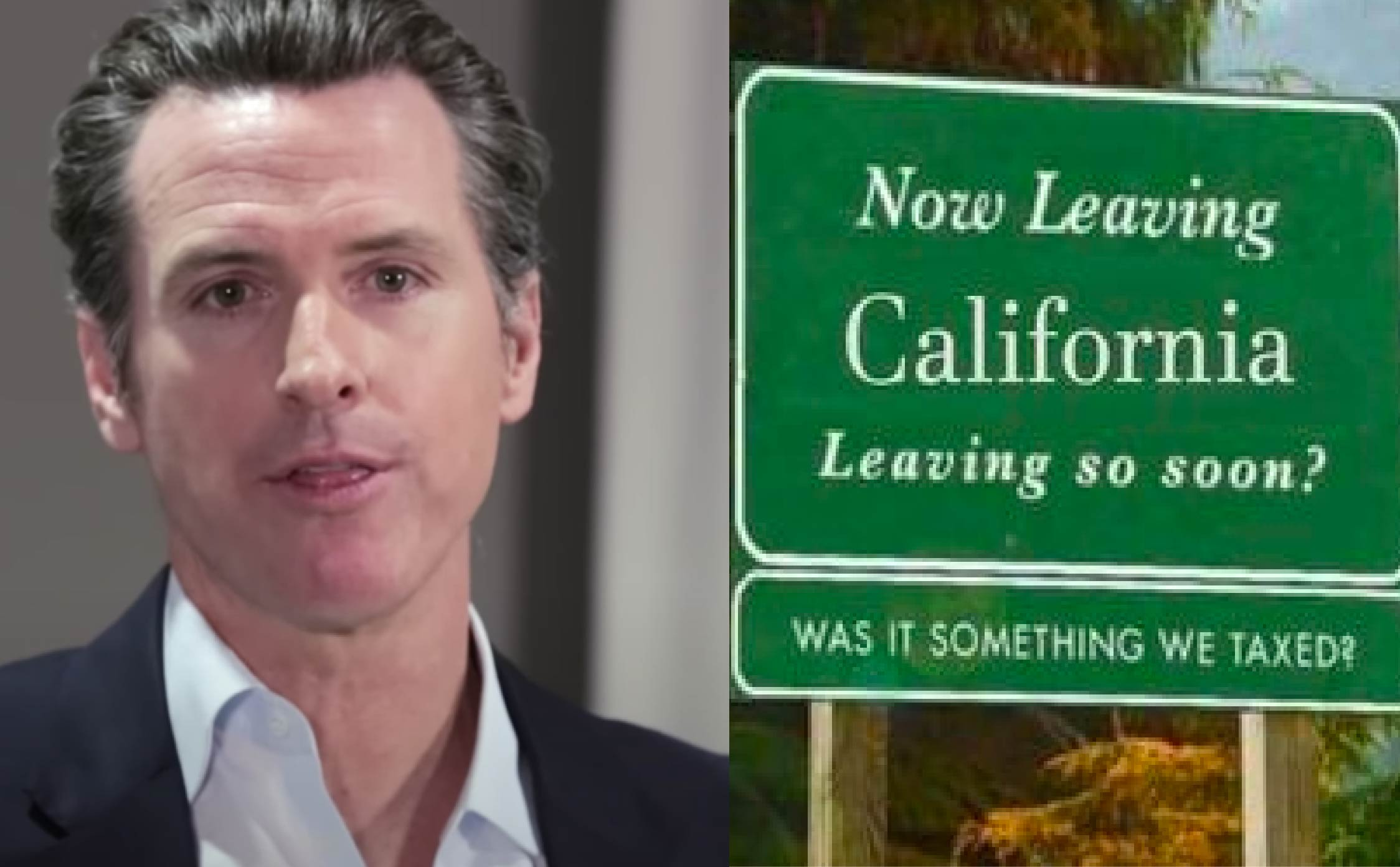 Family Moving Out of California Writes Scathing Message to Gavin Newsom on their Moving Truck