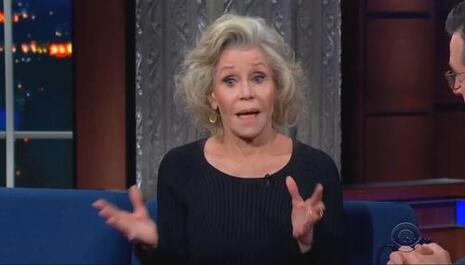 Gassy Jane Fonda Says Climate Change Is a Race Issue