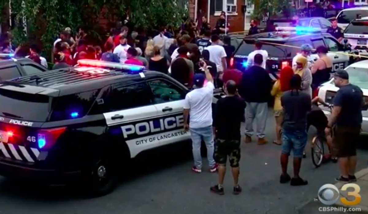 Lancaster Shooting: Riots Erupt after Police Shoot Man Wielding Knife