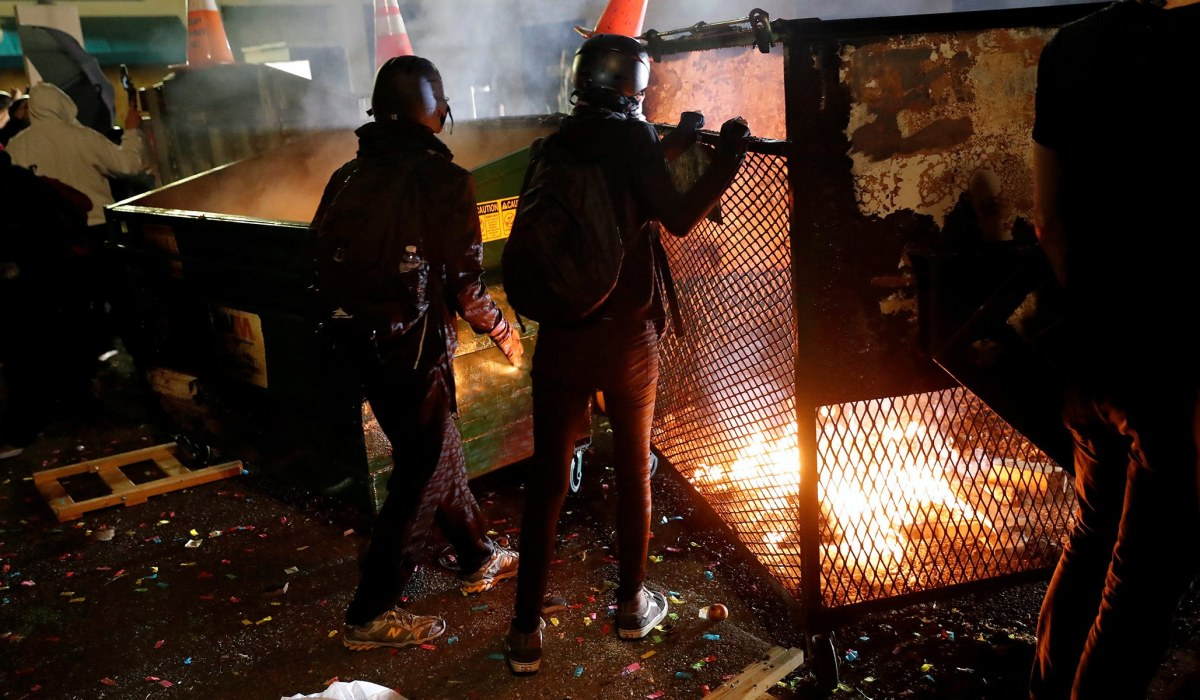 Media Admit Riots Are Real, but Shift Blame to White Nationalists and Russians