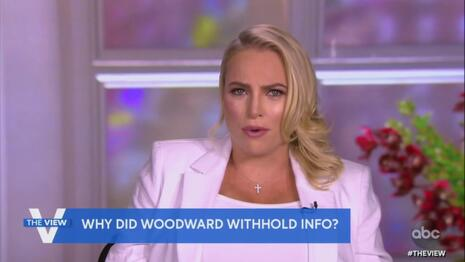 Meghan McCain on Woodward Book: The Media Is Republicans' 'Enemy,' 'Here to Make You Look Bad'