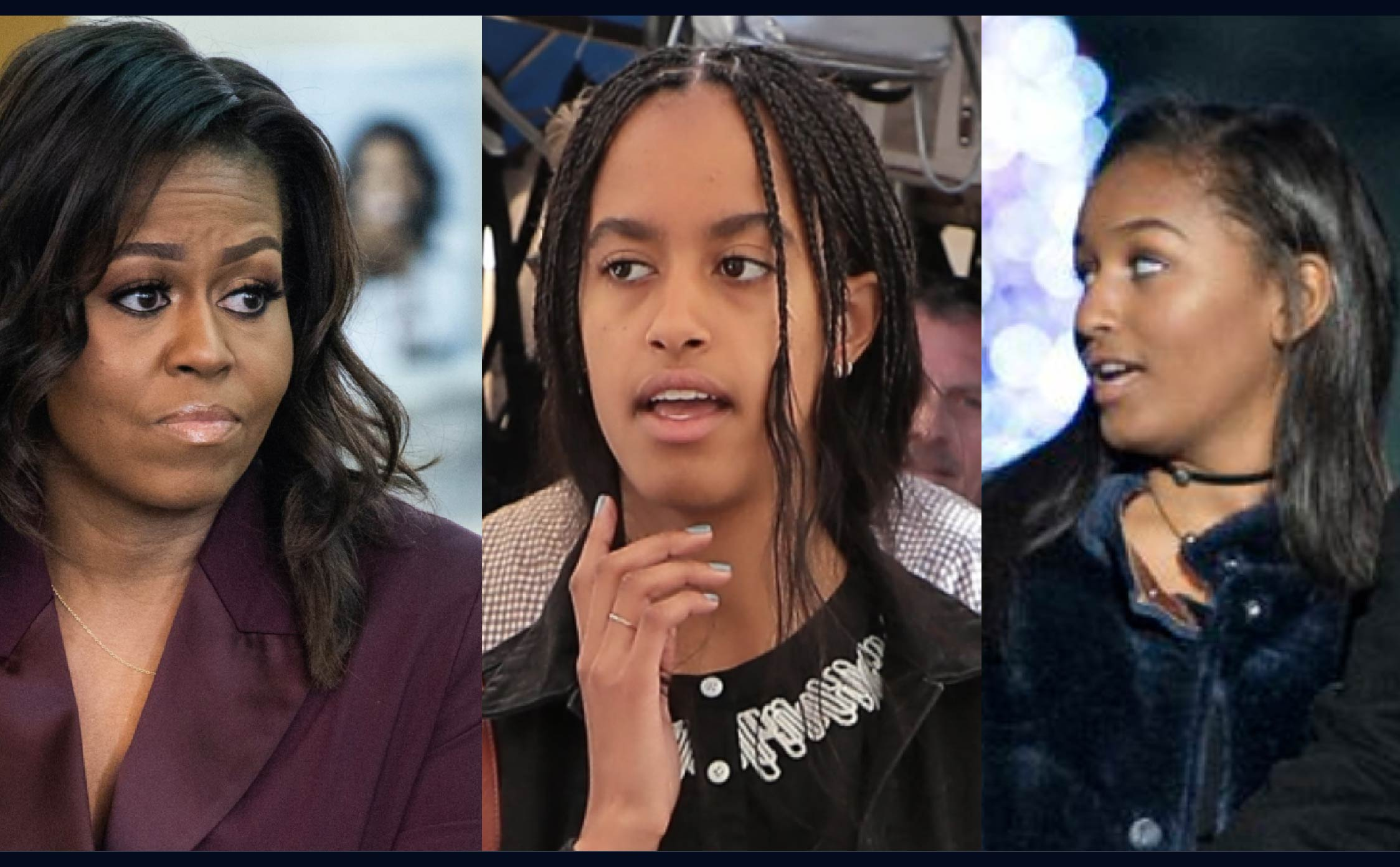 "Michelle Obama Reveals ""Tough Times"" She's Had With Daughters Malia And Sasha"
