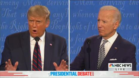 NBC Exclusively Blames 'Bully' Trump for 'Hot Mess,' 'Trainwreck' Debate