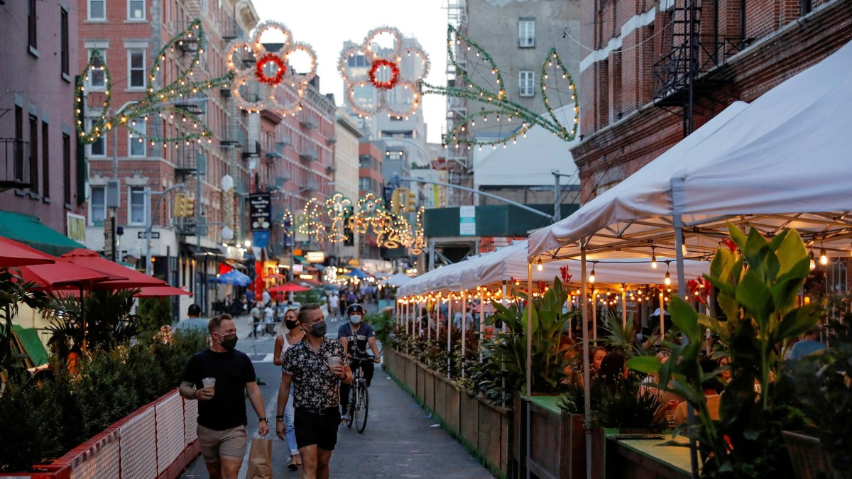 NYC to Allow Indoor Dining at 25 Percent Capacity, Marking COVID Recovery Milestone