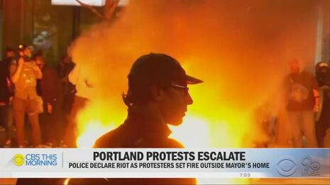 Pathetic: After Ignoring Riots, NY Times Now Says Trump 'Throwing Accelerant' on U.S. Unrest