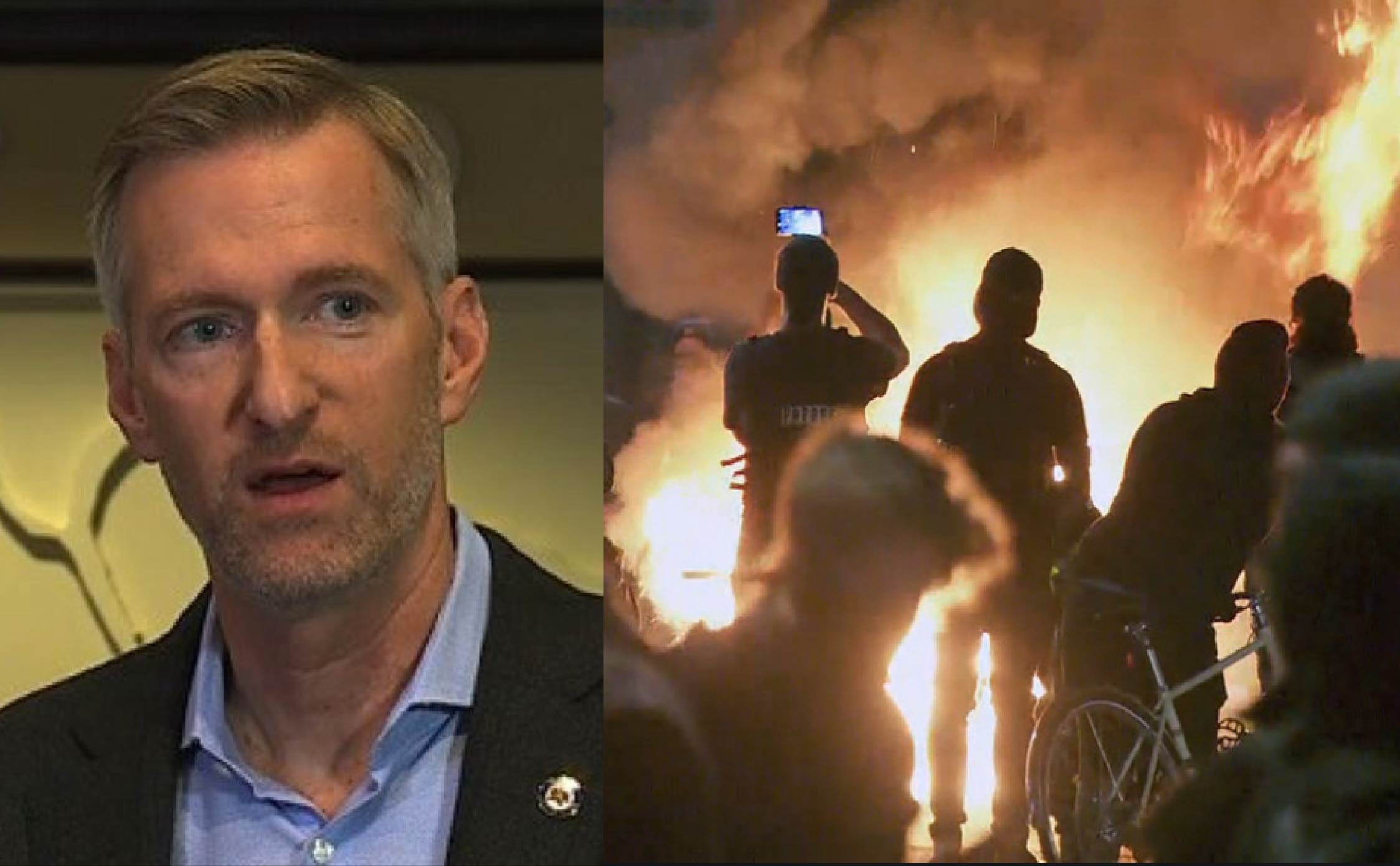 Portland Mayor Tucks Tail and Flees the City After Rioters Try to Torch His $840,000 Condo