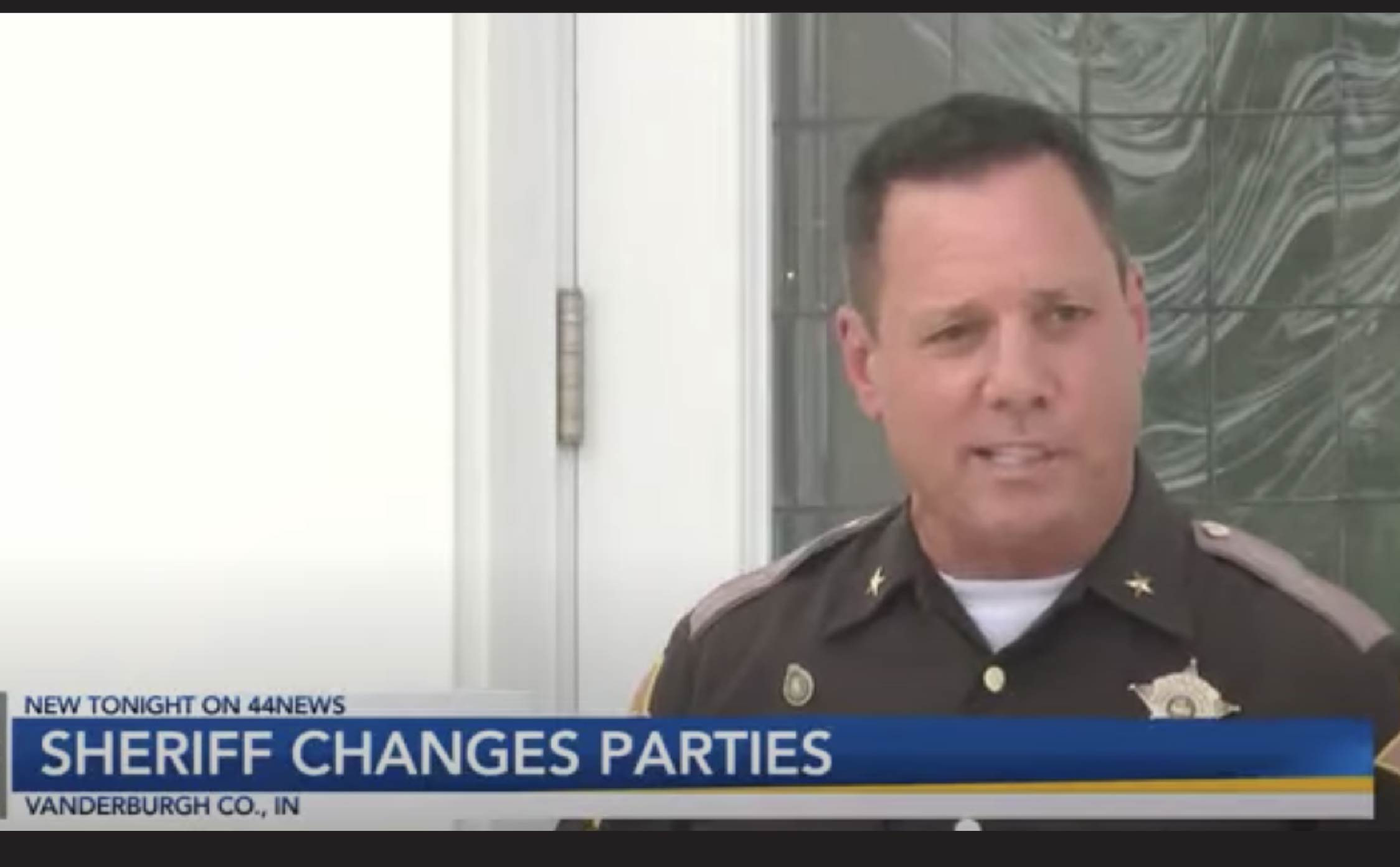 "Sheriff of Indiana's Largest County is Done With Lawless, Radical Dems, Changes Political Party to ""Republican"""