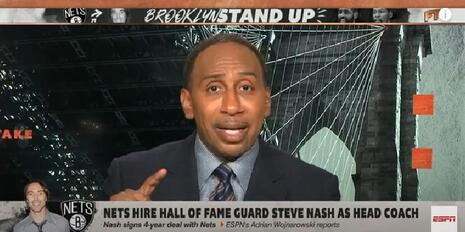 Stephen A. Smith Rages Against White Privilege Over NBA Coaching Hire