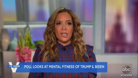 Sunny Hostin: 'Inappropriate' 'Crass' to Question Biden's Mental Fitness--That's Not What She Said About Trump