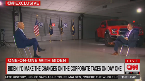 Tapper Leads Biden in Anti-Trump Hate-Fest, Lets Him LIE About NoKo Talks