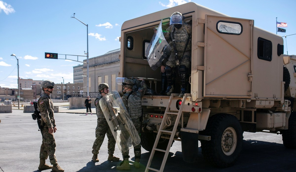 The National Guard Cannot Seize Ballots