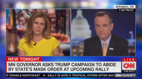 Trump Camp Official Confronts CNN on Rights of Rally Attendees