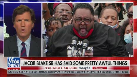 Tucker Carlson Scorches Biden, Media for Elevating Anti-Semite Jacob Blake Sr. as 'Moral Authority'
